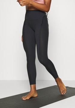 Nike Performance - YOGA 7/8 - Leggings - black/smoke grey