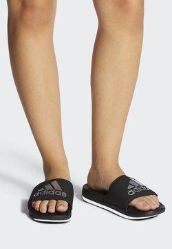adidas Performance - ADILETTE COMFORT SLIDES - Badesandale - black