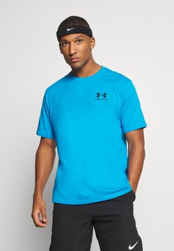 Under Armour - SPORTSTYLE LEFT CHEST - T-Shirt basic - electric blue