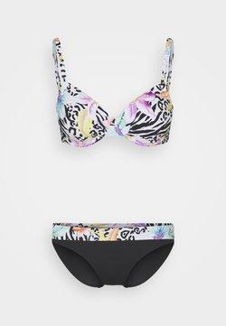 LASCANA - WIRE SET - Bikini - black/white
