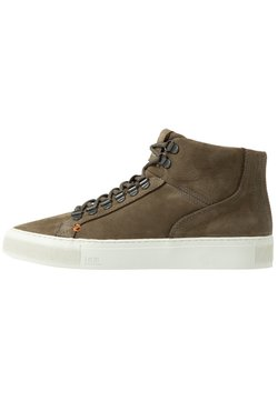 HUB - MURRAYFIELD - Sneaker high - dark olive/offwhite