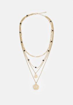 Pieces - PCSANELA NECKLACE - Necklace - gold-coloured