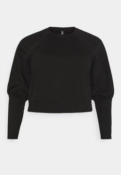 Pieces Curve - PCROSAN - Sweater - black