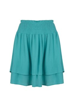 Jacky Luxury - A-lijn rok - turquoise