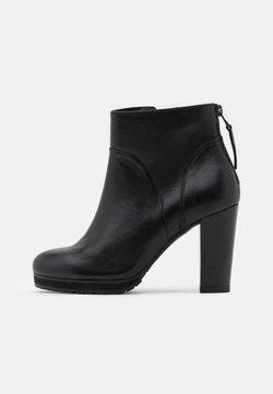 Lazamani - High heeled ankle boots - black