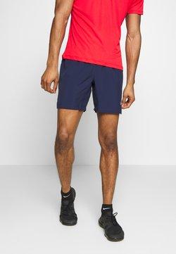 ASICS - SILVER SHORT - Pantalón corto de deporte - peacoat