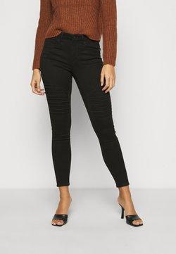 ONLY Petite - ONLROYAL BIKER - Jeans Skinny - black