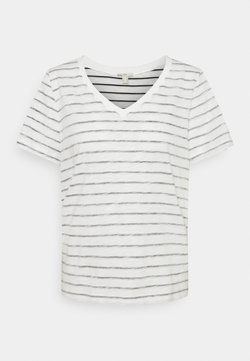 edc by Esprit - STRIPE - T-Shirt print - off white