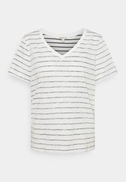 edc by Esprit - STRIPE - T-Shirt print - off white