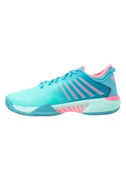 K-SWISS - HYPERCOURT SUPREME HB - da tennis per terra battuta - arbua blue/maui blue/soft neon pink