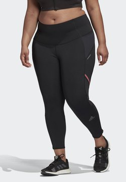 adidas Performance - HOW WE DO LONG LEGGINGS (PLUS SIZE) - Medias - black