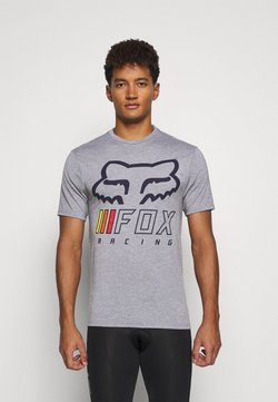Fox Racing - OVERHAUL TECH TEE - T-Shirt print - grey