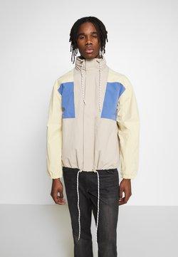 Weekday - JUSTIN COLOURBLOCKED JACKET - Summer jacket - beige