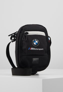 Puma - BMW SMALL PORTABLE - Sac bandoulière - black