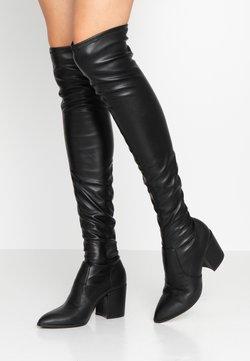 Steve Madden - JANEY - Over-the-knee boots - black paris
