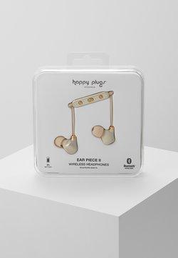 Happy Plugs - EAR PIECE II - Hörlurar - matte gold-coloured