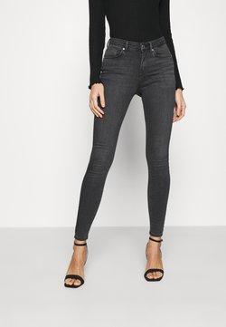 ONLY - ONLIDA LIFE MIDWAIST - Jeans Skinny Fit - grey denim