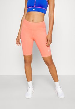 Reebok - RI SL FITTED SHORT - Tights - twisted coral