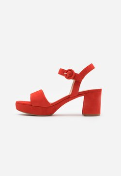 Unisa - NENES - Platform sandals - corallo