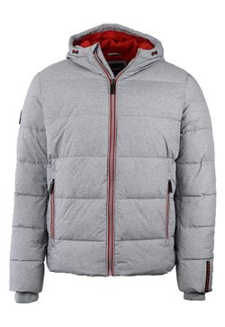 Superdry - Winterjacke - grey marl/risk red