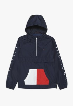 Tommy Hilfiger - POP-OVER JACKET - Veste mi-saison - blue