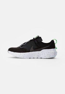 Nike Sportswear - NIKE CRATER IMPACT - Sneakers basse - black/iron grey-off noir-dk smoke grey-mean green-white