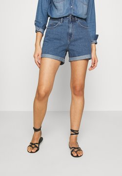 Vero Moda - VMNINETEEN LOOSE MIX NOOS - Shorts di jeans - medium blue denim