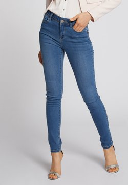 Morgan - WITH POCKETS - Slim fit jeans - bleached denim
