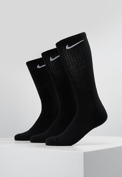 Nike Performance - EVERYDAY CUSH CREW 3 PACK - Urheilusukat - black/white