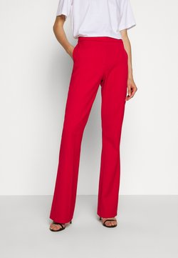 Victoria Victoria Beckham - VICTORIA TROUSER - Spodnie materiałowe - postbox red