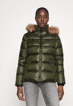 Calvin Klein - ESSENTIAL JACKET - Daunenjacke - dark olive