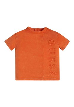 Guess - T-shirt print - resort orange