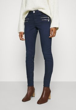 Mos Mosh - CHARLIE CORE ZIP - Slim fit jeans - dark blue