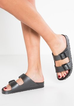 Birkenstock - ARIZONA  - Badesandale - metallic anthracite