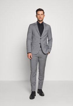 Tommy Hilfiger Tailored - MICRO STRIPE SLIM FIT SUIT SET - Suit - grey