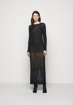 Trussardi - Vestido de punto - black