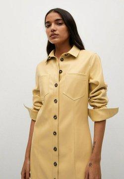 Mango - NASTIA - Sukienka koszulowa - giallo pastello
