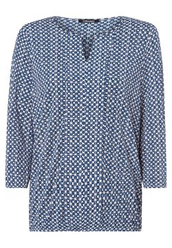 Olsen - MIT ZIERBORTE - Bluse - dunkelblau