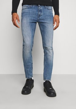 Only & Sons - ONSLOOM SLIM BLUE WASH - Jeansy Slim Fit - blue ´