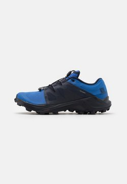 Salomon - WILDCROSS - Chaussures de running - palace blue/night sky