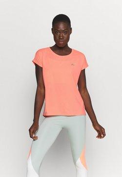 ONLY Play - ONPAUBREE LOOSE TRAINING TEE - T-Shirt basic - neon orange