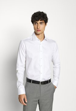 Seidensticker - SLIM LIGHT SPREAD KENT PATCH - Camicia elegante - weiß