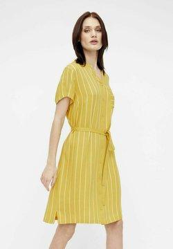 Object - BIRDY DRESS - Vestido camisero - dark yellow