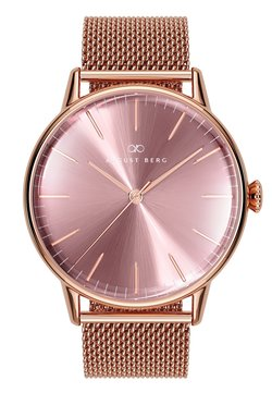 August Berg - UHR SERENITY ASH & ORCHID MESH 40MM - Montre - orchid