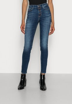 Guess - EXPOSED BUTTON - Jeans Skinny Fit - blue river