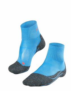 FALKE - TK2 SHORT COOL  - Sportsocken - blue note