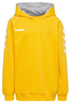 Hummel - HMLGO  - Bluza z kapturem - yellow