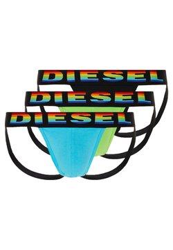 Diesel - 3 PACK - Slip - green/black/light blue