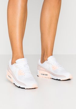 Nike Sportswear - AIR MAX 90 - Sneaker low - white/platinum tint/barely rose/crimson tint