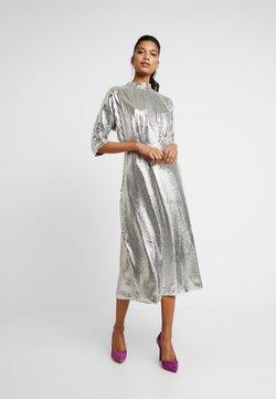 Closet - KIMONO SLEEVE DRESS - Cocktailkleid/festliches Kleid - silver